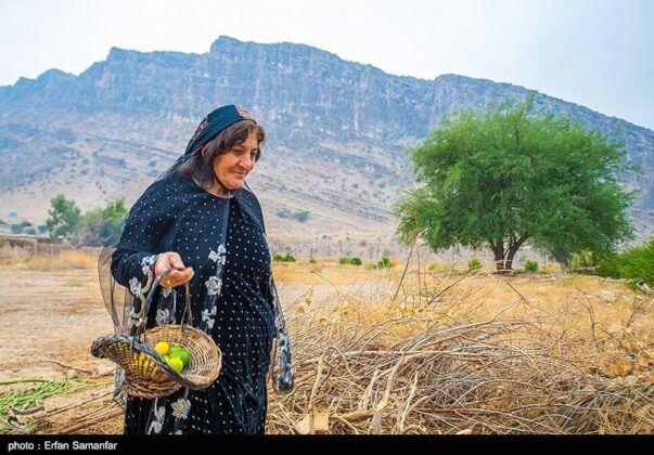 Woman from Historical Chogan Canyon, Iran