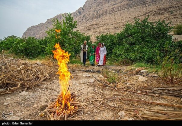 Villagers from Historical Chogan Canyon, Iran
