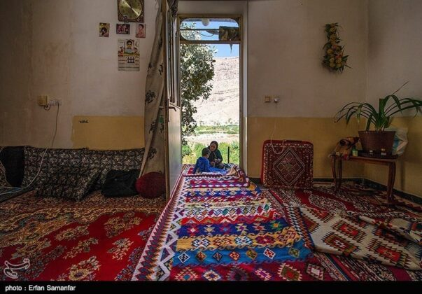 Village House in Nomad Life in Historical Chogan Canyon, Iran
