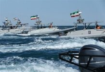 Iran's IRGC Says Following Americans in Persian Gulf 'Like A Falcon'