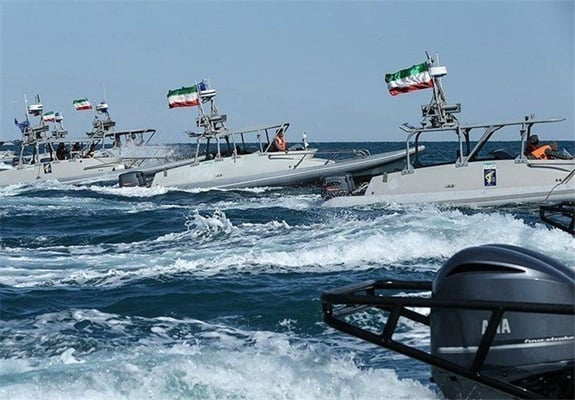 Iran's IRGC Says Following Americans in Persian Gulf 'Like A Falcon'