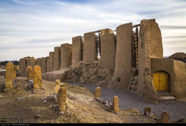 Nashtifan Windmills of Iran; Commination of Art & Technology