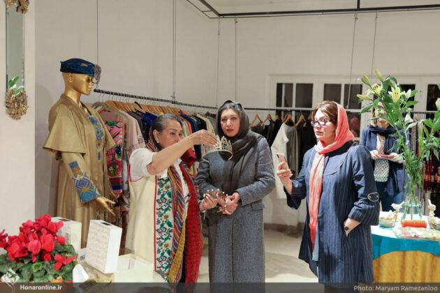 Iranian Baluch Woman Designs Dress for Queen of Brunei