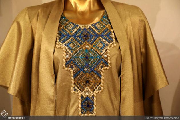 Iranian Baluch Woman Designs Dress for Queen of Brunei (16)