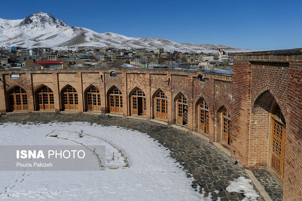Tajabad Caravanserai; Unique Structure in Iran's Hamadan