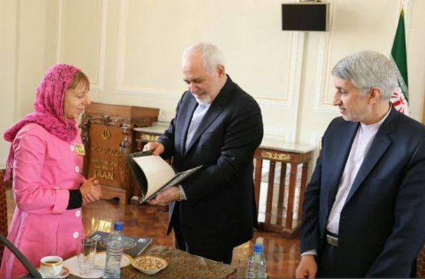CODEPINK Members Meet with Iran FM in Tehran