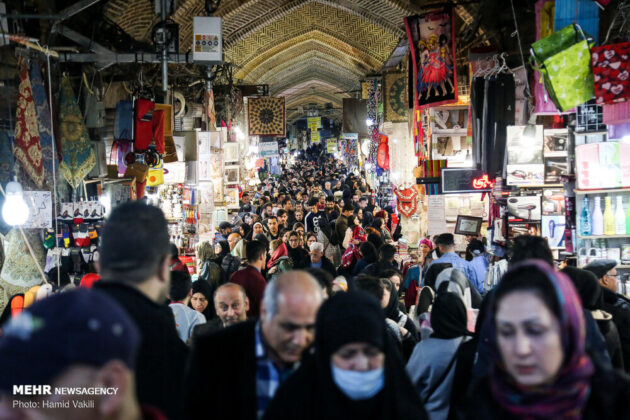Iranian Markets Busy on the Eve of New Year
