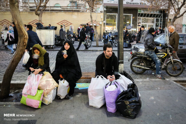 Shopping for Nowruz in Iran