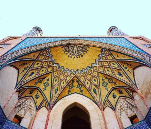 Historical building, Kashan, Iran