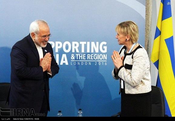 Iranian, Swedish FMs Discuss Bilateral Ties