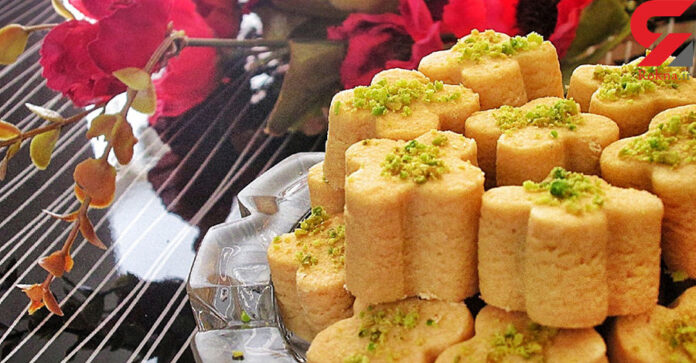 Chickpea Cookie; Favourite Home-Made Sweet for Nowruz