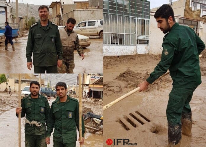 IRG Commanders in Flood-Iran - Copy