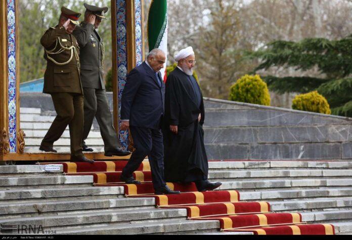 Iraqi PM Abdul Mahdi in Tehran