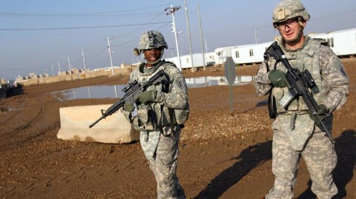 US forces in Iraq
