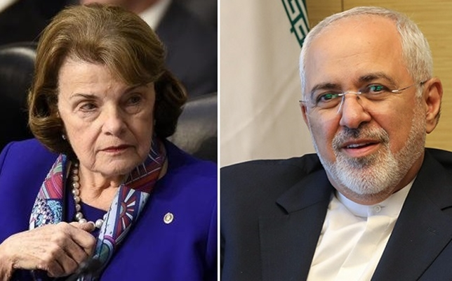 Zarif-Feinstein Meeting Aimed at Warding Off B-Team: Iran