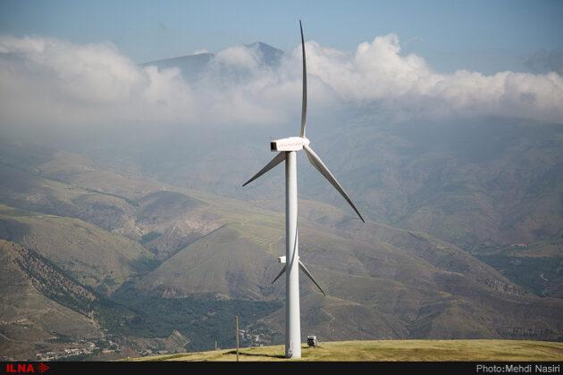 Wind Turbines of Manjil