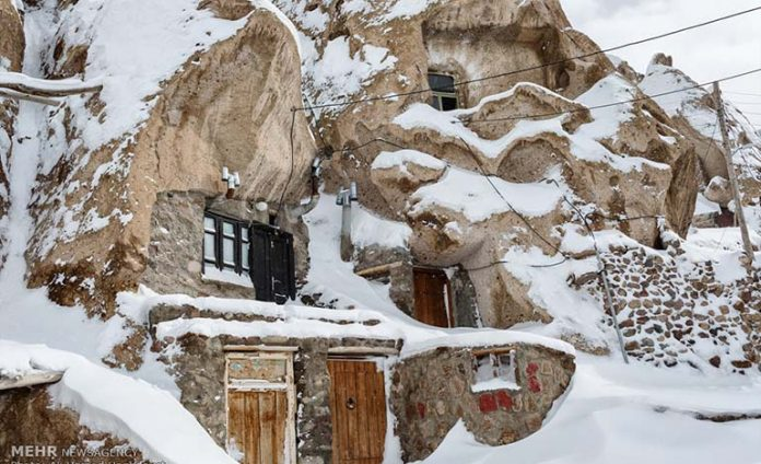 Kandovan village, north-western Iran