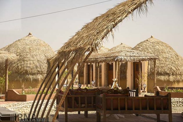 Tribal houses in Kerman, south-eastern Iran