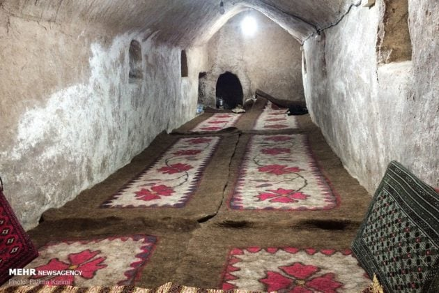 Underground residence in Aradan, Iran