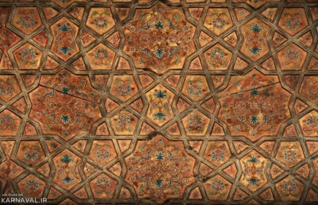 Beautiful Palace of Hasht Behesht, Iran