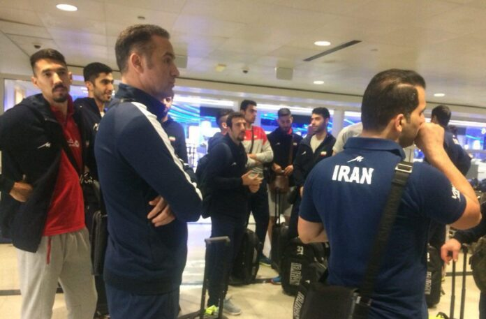Iran Volleyball Team in US