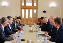 Iran and Belarus meeting