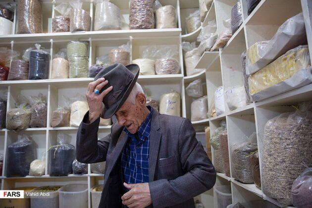 Man in Traditional Grocery,Tabriz, Iran