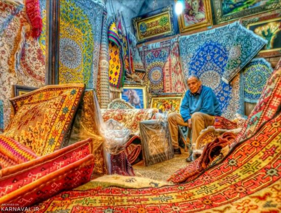 Iran's Beauties in Photos: Vakil Bazaar of Shiraz