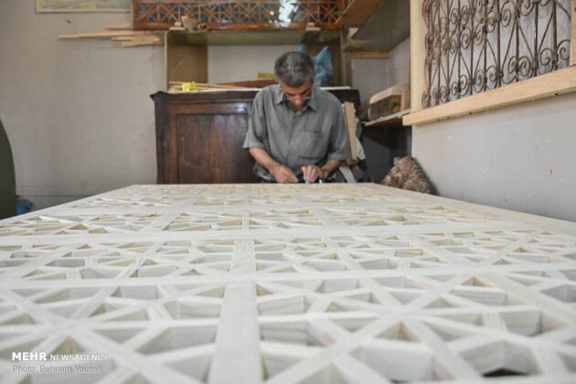 Girih; Geometric Art Revived in Iran after a Century
