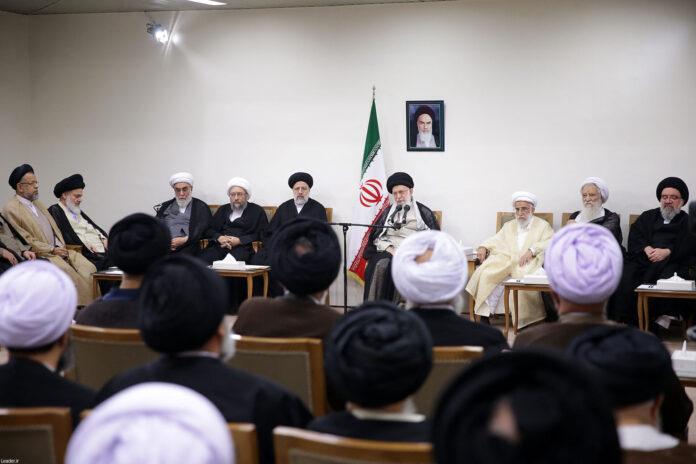 Leader of Iran's Islamic Revolution Ayatollah Seyyed Ali Khamenei