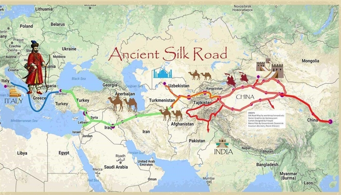 Iran Ready For Active Participation In China S One Belt One Road Iran Front Page