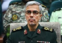 Iran's Top General Urges Muslim Condemnation of Trump's Plan