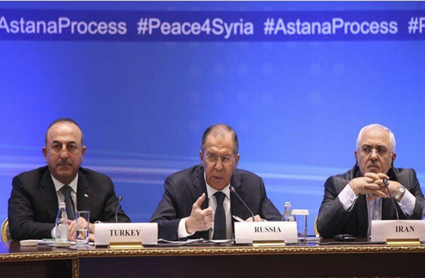 Iranian, Russian, Turkish FMs to Meet in Geneva on Syria