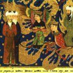 Ancient Illustration Celebrating Prophet Muhammad's Life