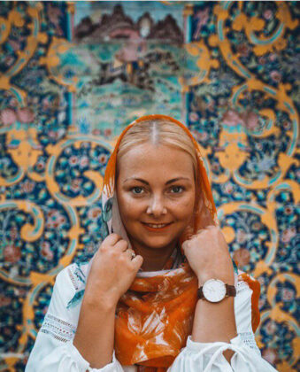 Polish Family Share Their Joy of Travelling to Iran (3)