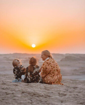 Polish Family Share Their Joy of Travelling to Iran (5)