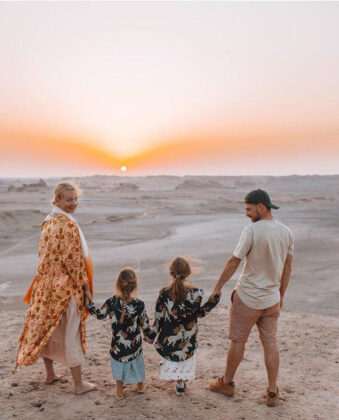 Polish Family Share Their Joy of Travelling to Iran (8)