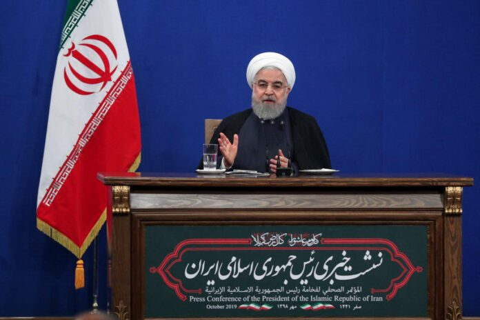 Rouhani in Press Conference