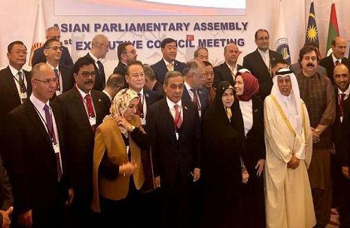 The 1st Executive Council meeting of the Asian Parliamentary Assembly - APA in Turkey