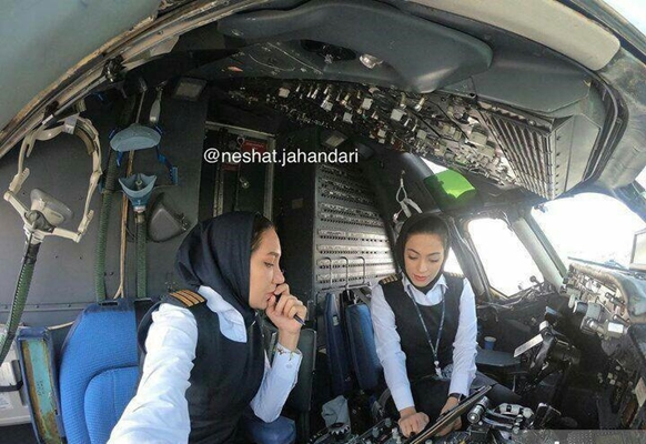 Flight Captained By Two Women For First Time In Iran Iran Front Page