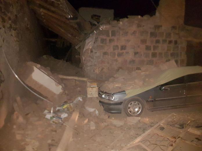 5.9-Magnitude Quake in Northwestern Iran
