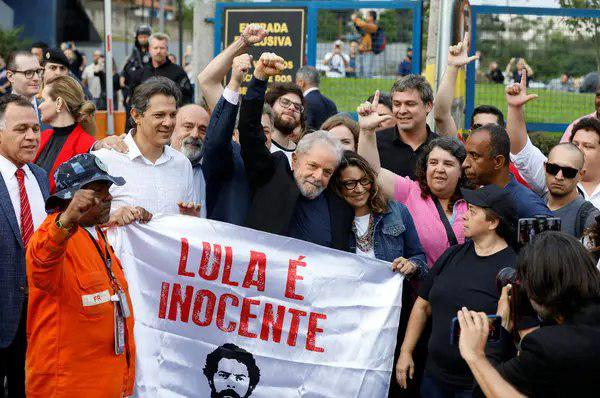 Brazil's Popular Ex-President Freed from Jail in Blow to Bolsonaro