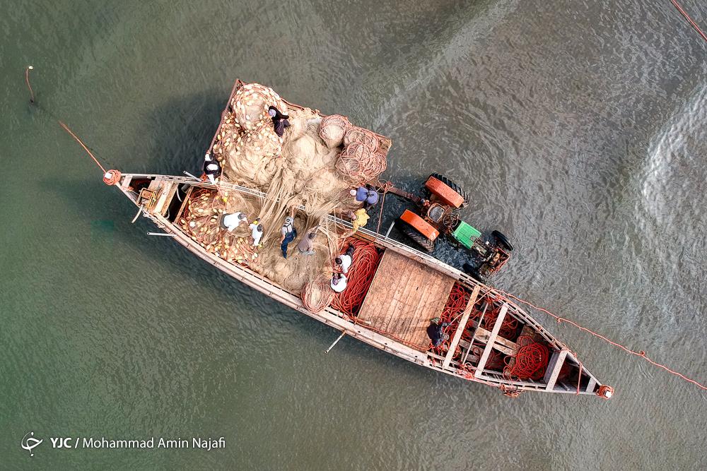 Caspian Sea Generous Source of Income for Local Fishermen