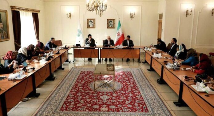 Female Indian Journalists Meet with Iran FM