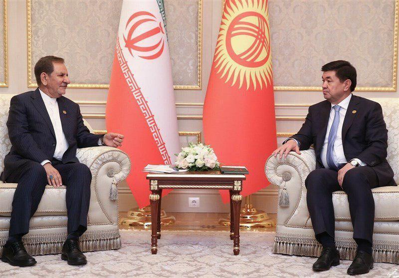 First Vice President -jahangiri-Kyrgyzstan