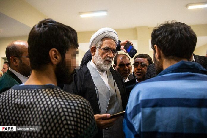 Iran's Prosecutor Judicial Screening of Arrestees Due to End Soon (1)