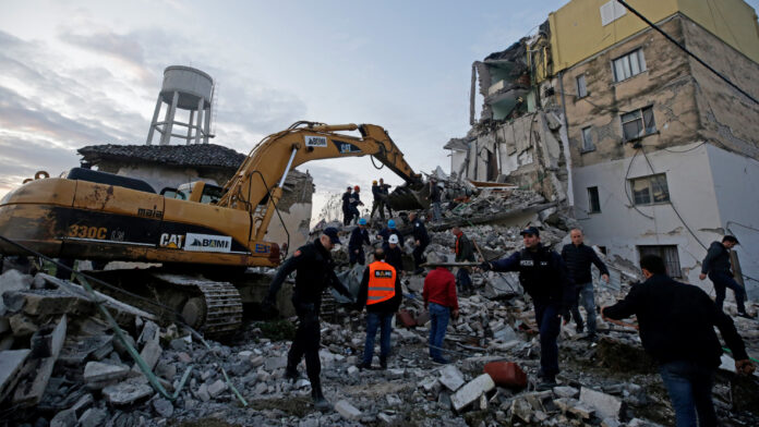 Iran Condoles with Albania over Deadly Quake