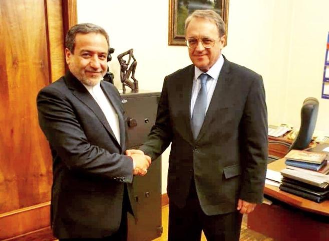 Iran, Russia Diplomats Discuss Regional Developments