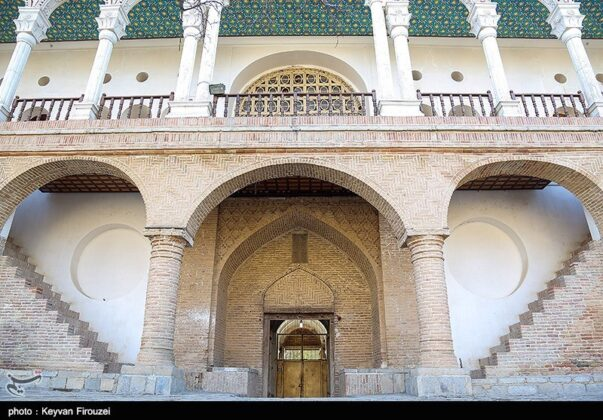 Historical Mansion; Popular Tourist Site in Western Iran