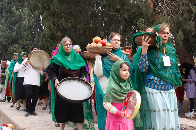 Zoroastrian People, Iran